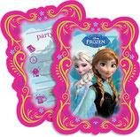 Frozen Einladungskarten