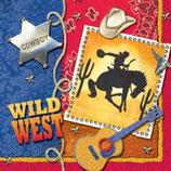 Wilder Western Serviette