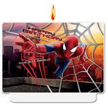 Spiderman Amazing 2 Kuchenkerze