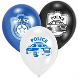 Police Latexballons
