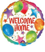 Welcome Home rund Folienballon