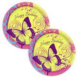 Schmetterling kleine Partyteller
