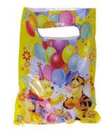 Winnie Pooh gelb Partytüten