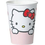 Hello Kitty Sweet Heart Partybecher