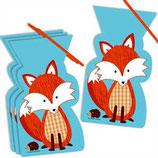 Waldtiere Fuchs Partytüten