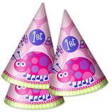 1st Birthday Girl Käferchen Partyhüte