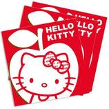 Hello Kitty Apple Servietten