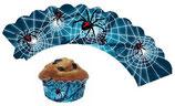 Spinne Muffin Cupcake Deko-Banderolle