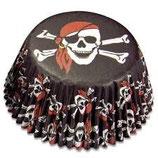 Muffinförmchen Pirat