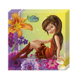 Tinkerbell Fairies Magic Servietten