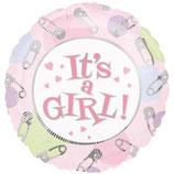 It's a Girl Extra Mini Folienballon