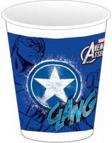 Avengers Teen Captain America Partybecher