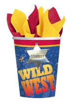 Wilder Westen Partybecher
