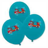 Feuerwehr blaue Latexballons