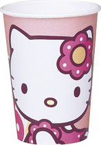 Hello Kitty Bamboo Partybecher