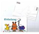 Sendung mit der Maus Einladungskarten