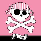 Piraten Girl Ahoi Servietten