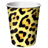 Dschungel Leopard Partybecher