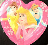 Disney Princess Dornröschen Herz Partyteller