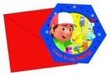 Meister Manny Einladungskarten