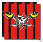 Piraten roter Pirat Servietten