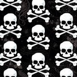 Piraten Totenkopf Servietten