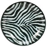 Dschungel Zebra Partyteller