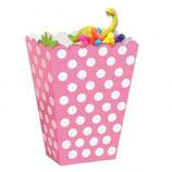 Punkte rosa weiss Geschenkebox
