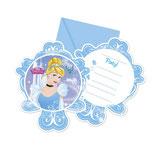 Cinderella Fairytale Einladungskarten