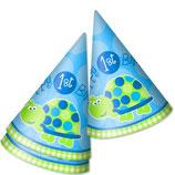 1st Birthday Boy Schildkrötchen Partyhüte