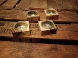 Teelichthalter aus Walnuß (pro Stück)