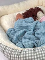 Babykuscheldecke Blau