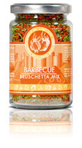 Bruschetta Barbecue Mix 60g. 100g=10,83€
