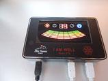 I AM-WELL-379 Scan:  Zellen-Frequenz-Scanner mit 2 Hand-Sonden