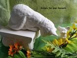 kleine Regalkatze Schnurzeli mit Maus
