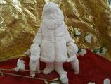Zwei Schneekinder für Santa