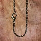 Ketting bronskleurig 46 cm