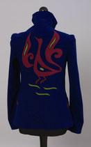 Dame-Klassik, Blau mit Phoenix