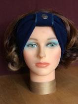 Stirnband, Blau-Petrol