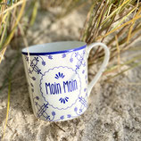 "Becher Fine Bone China ""Moin Moin"""