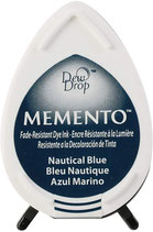 Stempelkissen Memento Nautical blue - Drop
