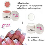 KIT GEL UV FRENCH + GEL UV COVER