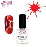 INK COLOR COLORE ROSSO 5ML