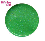 GEL UV FLUO GLITTER VERDE 5 ML