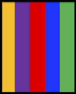 Wunschwicklung mit 5 Farben
