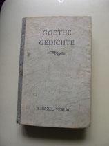Goethe, Gedichte