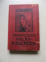 Trowitzsch's Volkskalender  1906