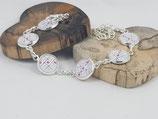 """Armband """"Herz/ Kreuz"""""""