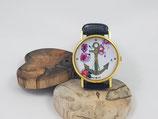 """Armbanduhr """"Anker Blumen"""""""