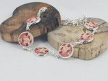 """Armband """"Mohnblumen Holz"""""""